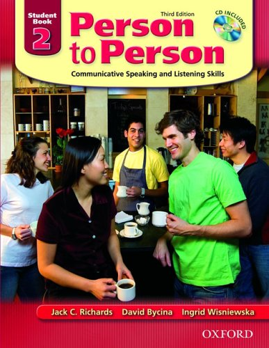 Person to Person Communicative Speaking and Listening Skills 3rd 2005 (Revised) 9780194302159 Front Cover