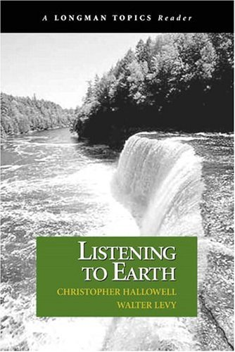 Listening to Earth A Reader  2005 edition cover