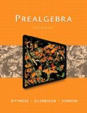 Prealgebra:   2015 edition cover
