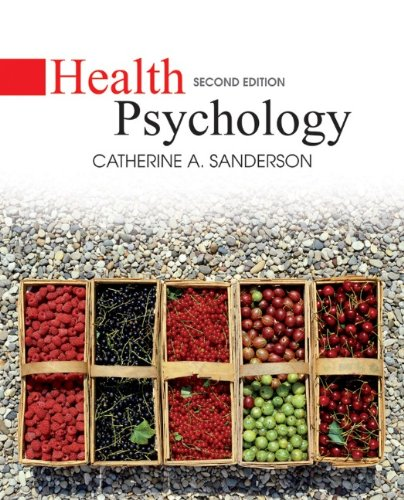 Health Psychology  2nd 2013 9780470129159 Front Cover