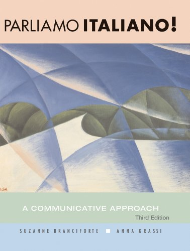 Parliamo Italiano! A Communicative Approach 3rd 2007 edition cover