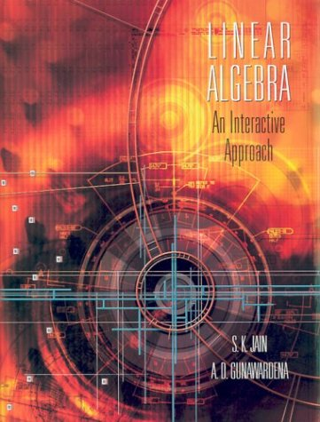 Linear Algebra An Interactive Approach  2004 9780534409159 Front Cover