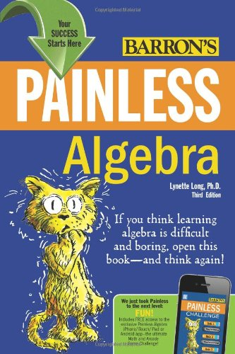 Painless Algebra  3rd 2011 (Revised) edition cover