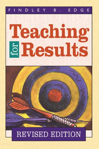 Teaching for Results   1995 (Revised) edition cover