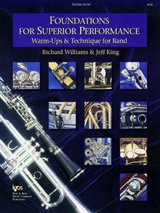 Foundations for Superior Performance : Percussion 1st (Student Manual, Study Guide, etc.) edition cover