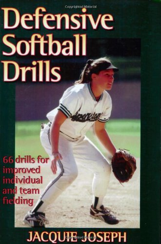 Defensive Softball Drills   1998 9780880117159 Front Cover