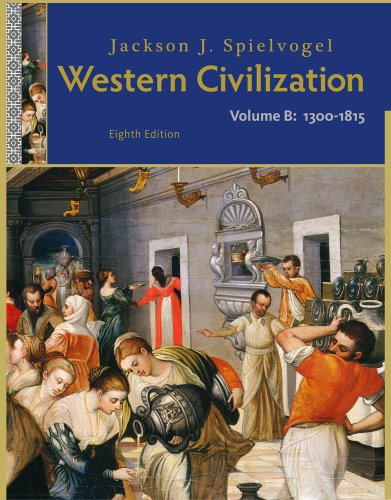 Western Civilization 1300 to 1815 8th 2012 edition cover
