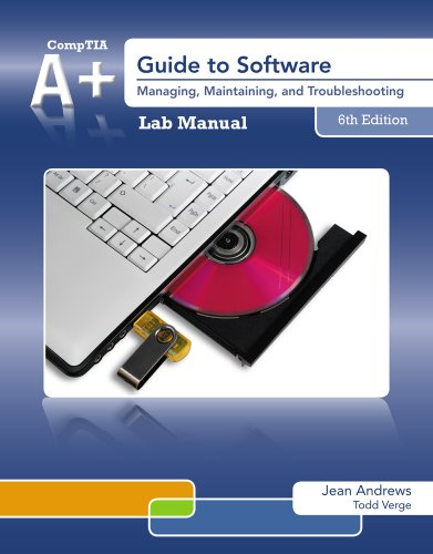 A+ Guide to Software  6th 2013 9781133135159 Front Cover