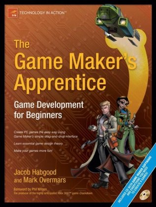 Game Maker's Apprentice Game Development for Beginners  2006 edition cover