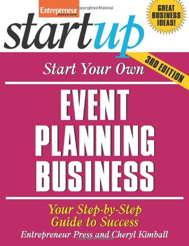 Event Planning Business Your Step-by-Step Guide to Success 3rd 2011 edition cover