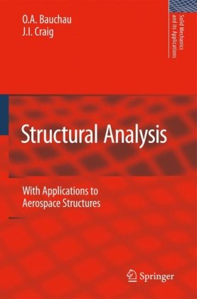 Structural Analysis With Applications to Aerospace Structures  2009 edition cover