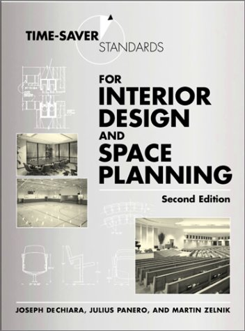 Time-Saver Standards for Interior Design and Space Planning  2nd 2001 (Revised) edition cover