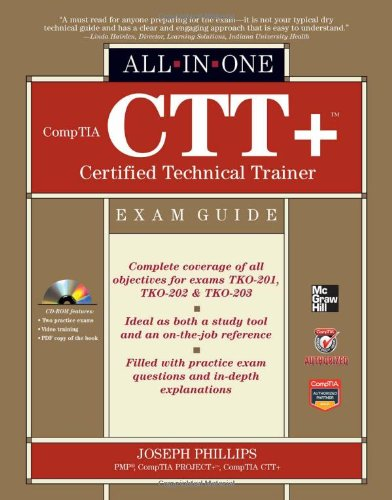 CompTIA CTT+ Certified Technical Trainer   2012 edition cover