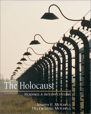 Holocaust Readings and Interpretations  2001 edition cover