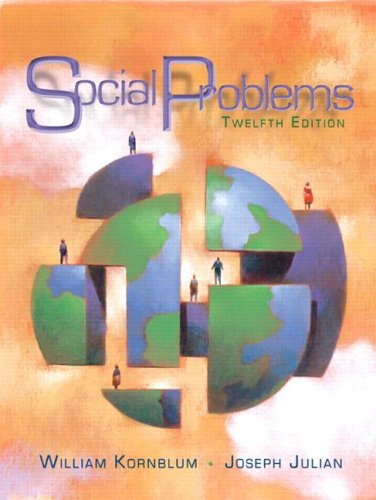 Social Problems  12th 2007 (Revised) edition cover