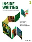 Inside Writing, Level 1 The Academic Word List in Context Student Manual, Study Guide, etc.  edition cover
