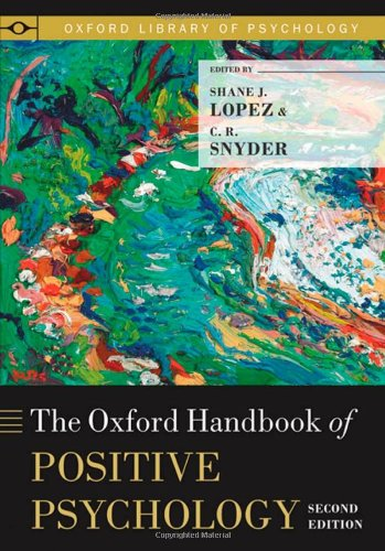 Oxford Handbook of Positive Psychology  2nd 2011 edition cover