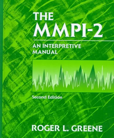 MMPI-2  2nd 2000 (Revised) 9780205284160 Front Cover