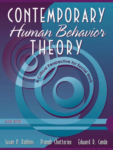 Contemporary Human Behavior Theory A Critical Perspective for Social Work 2nd 2006 (Revised) edition cover