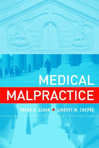 Medical Malpractice   2010 edition cover