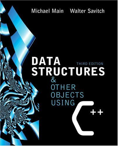 Data Structures and Other Objects Using C++  3rd 2005 (Revised) edition cover