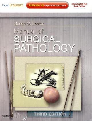 Manual of Surgical Pathology Expert Consult - Online and Print 3rd 2010 edition cover