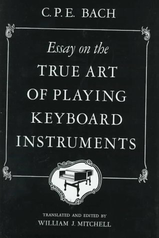 Essay on the True Art of Playing Keyboard Instruments   1949 edition cover