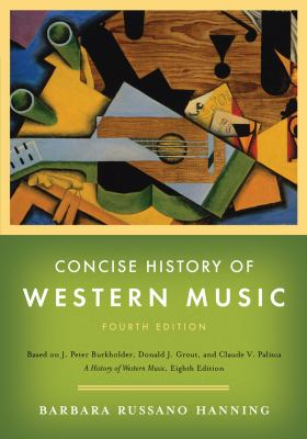 CONCISE HISTORY OF WESTERN MUS N/A edition cover
