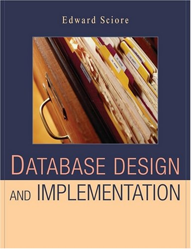 Database Design and Implementation   2009 edition cover
