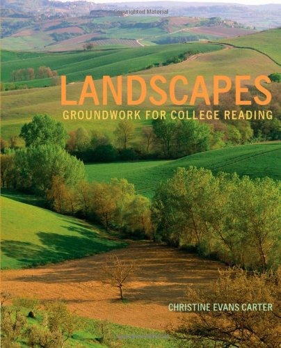 Landscapes Groundwork for College Reading  2013 edition cover