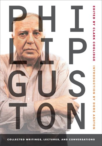 Philip Guston Collected Writings, Lectures, and Conversations  2010 edition cover