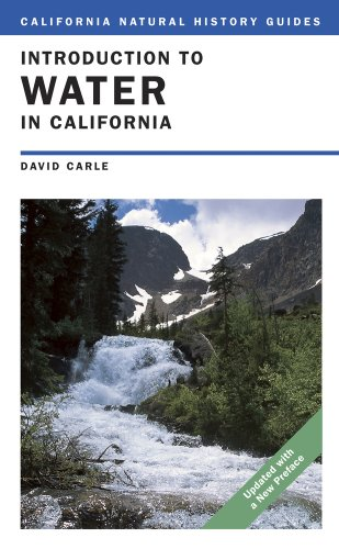Introduction to Water in California  2nd 2009 (Revised) edition cover