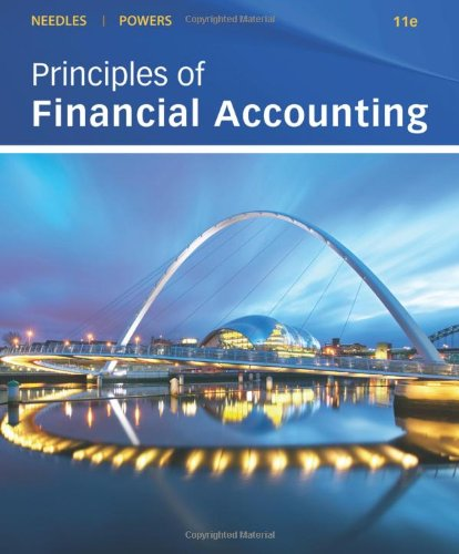 Principles of Financial Accounting  11th 2011 9780538755160 Front Cover