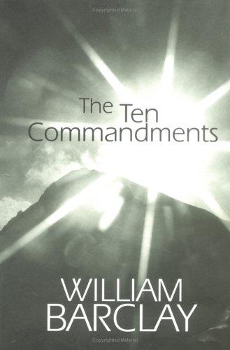Ten Commandments   1999 edition cover
