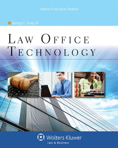 Law Office Technology  N/A edition cover