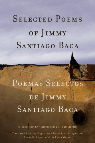 Selected Poems of Jimmy Santiago Baca   2009 edition cover
