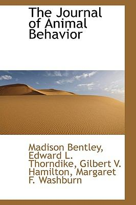 Journal of Animal Behavior N/A 9781113436160 Front Cover