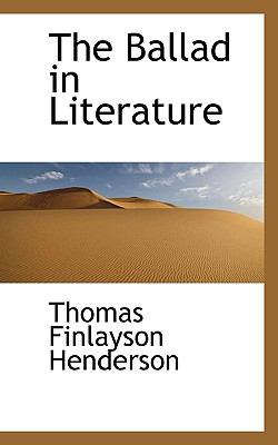 Ballad in Literature  N/A 9781115429160 Front Cover