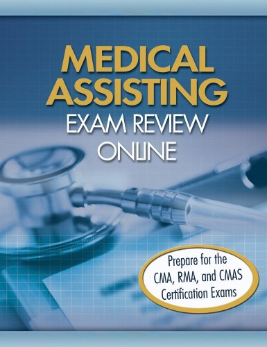Delmar Learnings Medical Assisting Exam Review Online Course   2009 9781401878160 Front Cover