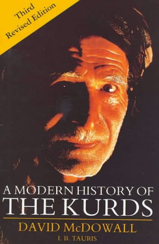 Modern History of the Kurds  3rd 2003 (Revised) edition cover
