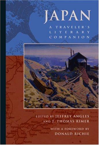Japan A Traveler's Literary Companion  2006 edition cover