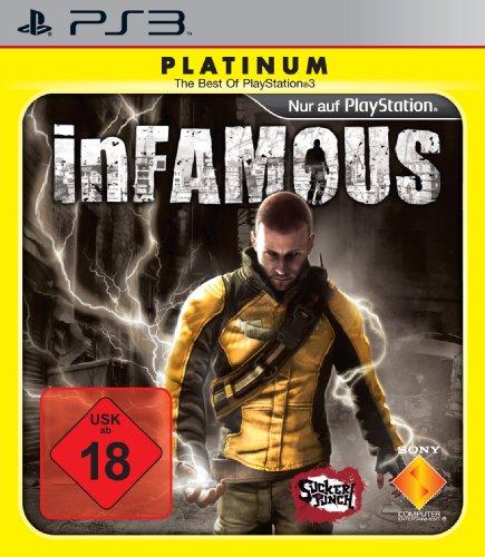 InFamous [Platinum] PlayStation 3 artwork