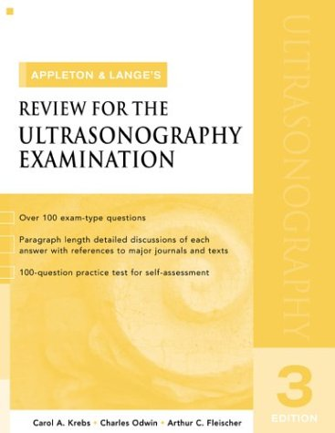 Appleton and Lange Review for the Ultrasonography Examination  3rd 2004 (Revised) edition cover