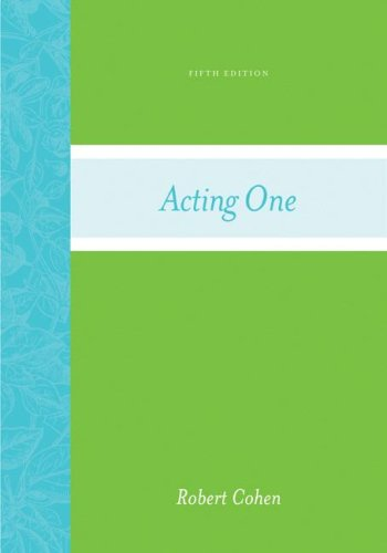 Acting One  5th 2008 (Revised) edition cover