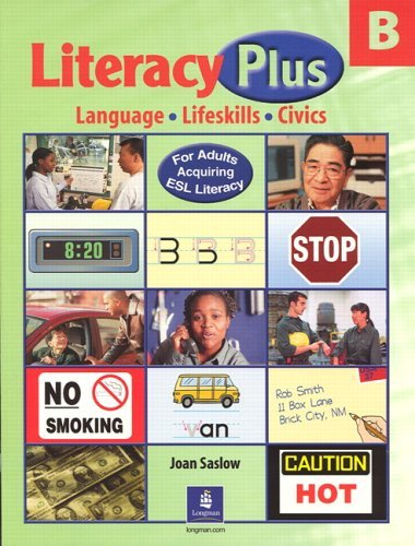 Literacy Plus B   2002 edition cover