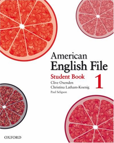 American English File   2008 (Student Manual, Study Guide, etc.) edition cover