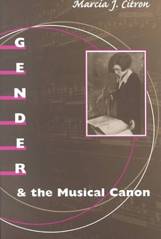 Gender and the Musical Canon   2000 edition cover