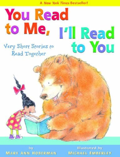 You Read to Me, I'll Read to You Very Short Stories to Read Together N/A edition cover
