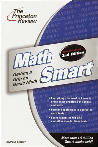 Math Smart  2nd 2001 (Revised) edition cover