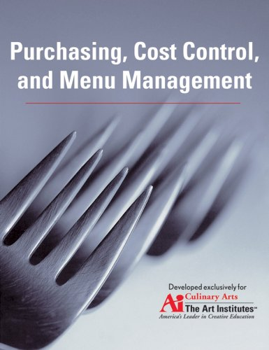 Purchasing, Cost Control, and Menu Management   2007 edition cover